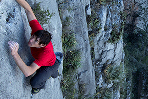 """Alex Honnold: """"The Calculus of Climbing at the Edge"""